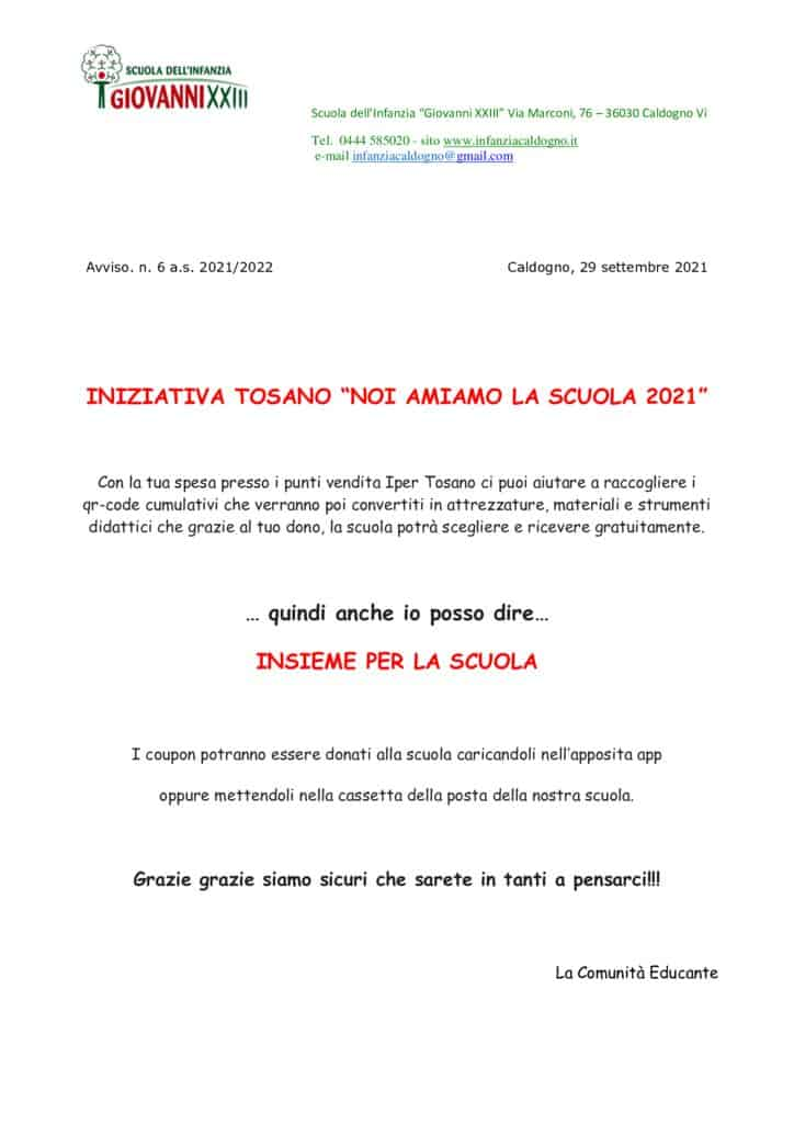 thumbnail of 6. Iniziativa TOSANO – Noi amiamo la scuola 2021